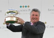 Paul Nicholls with trainers trophy 01
