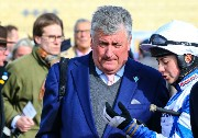 Paul Nicholls with Bryony Frost 123201