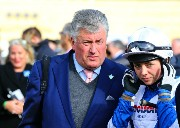 Paul Nicholls with Bryony Frost 123203