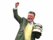 Paul Nicholls with trainers trophy 2015-16 01