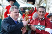 Davy Russell and Gordon Elliott 144181