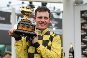 Paul Townend 153191 with the Cheltenham Gold Cup